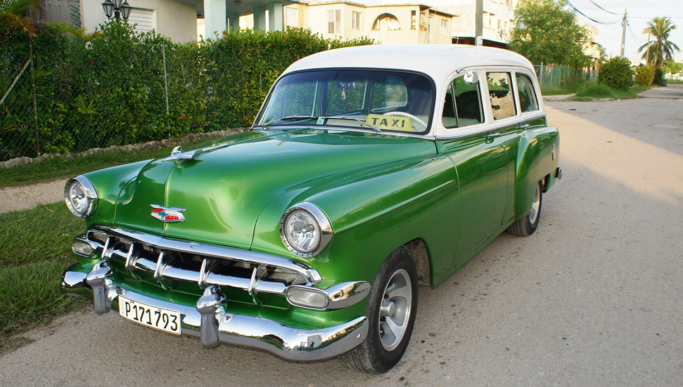 Rent classic 56 Chevrolet. | Travel Jibacoa